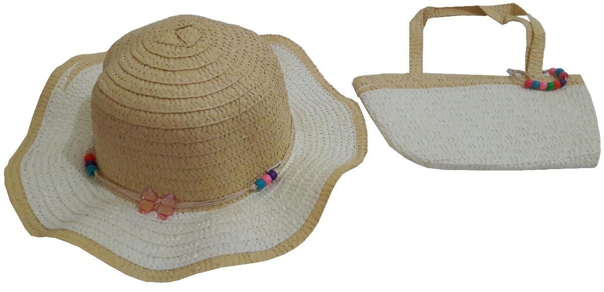 9334c13db1b5 kit chapeu e bolsa infantil praia personalizar grava nome. Carregando zoom.
