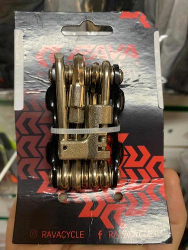 kit chave allen tsw rava 12 funções pino corrente bike mtb