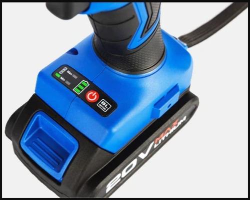 kit chave de fenda elétrica broca 20v 34 peças + 2baterias