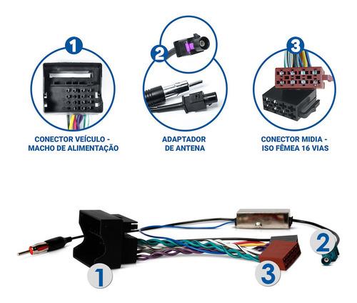 kit chicotsom adaptador quadrilock citroen c3 03 a 16