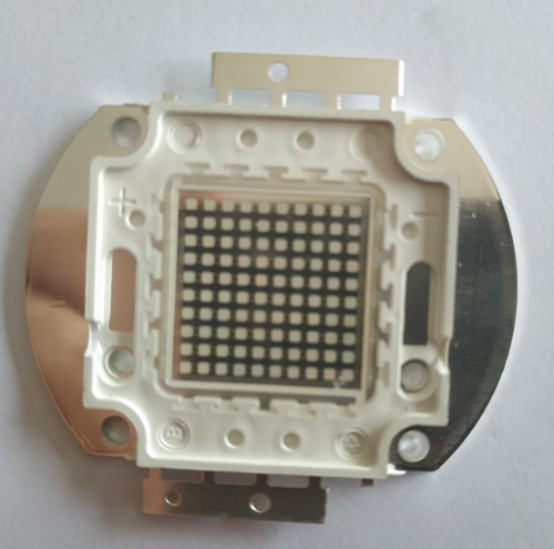kit chip led 100w uv ultra violeta 35v+driver 3a 100w 35v