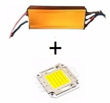 kit chip + reator driver led reposição 50w 100w 150w 200w