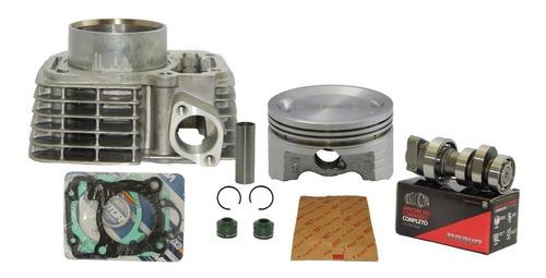 kit cilindro 190cc cg 150 retpins + comando bravo 315°