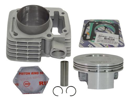 kit cilindro aumento potência cg 150 p/ 230 70mm taxado rik