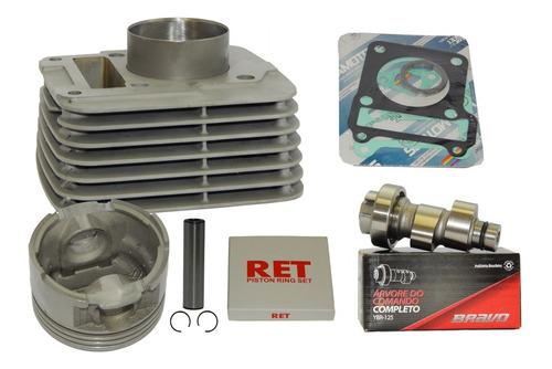 kit cilindro aumento potência ybr / xtz 125 para 150 comando