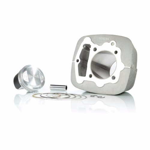 kit cilindro camisa pistão e anéis crf 230-240cc 67mm athena