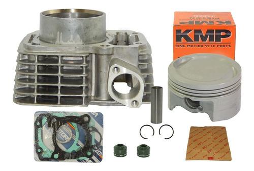 kit cilindro cg fan titan bros 150 para 170cc 4mm pistão kmp