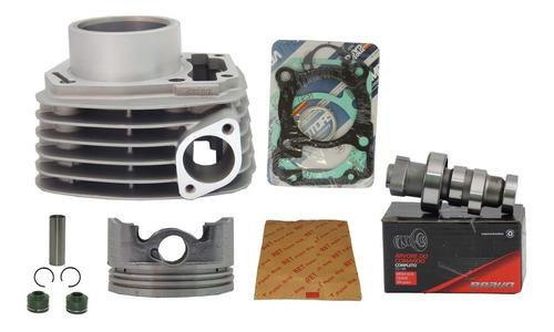 kit cilindro cg / titan / bros 160 p/ 190cc 4mm comando 305