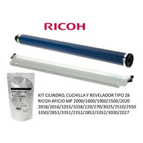 Kit Cilindro Cuchilla Revelador Mp2000-1500-2020-3025-2550