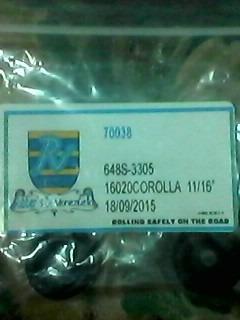 kit cilindro d freno toyota corolla11/16goma baja(codigo648)