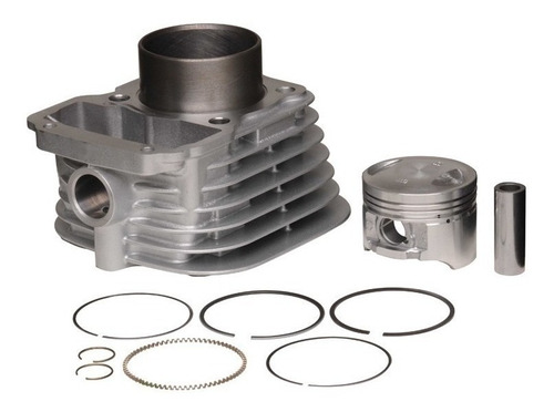 kit cilindro honda bros 125 metal leve