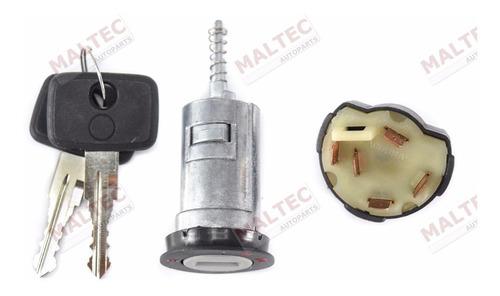 kit cilindro ignição + comutador 5 pinos kadett ipanema 89/