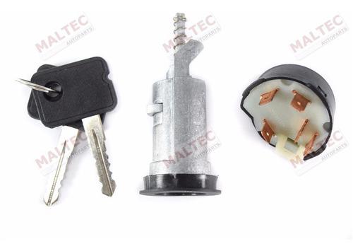 kit cilindro ignição + comutador elétrico pickup d20 após 92