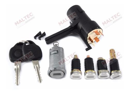kit cilindro ignição porta combustível + comutador celta 06/