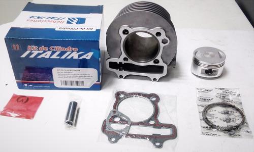 kit cilindro italika ds150/ws150 completo original (8 pzas)