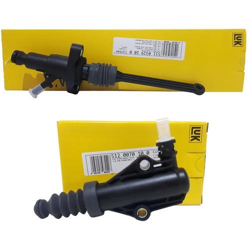 kit cilindro mestre embreagem + auxiliar grand siena 1.4 8v