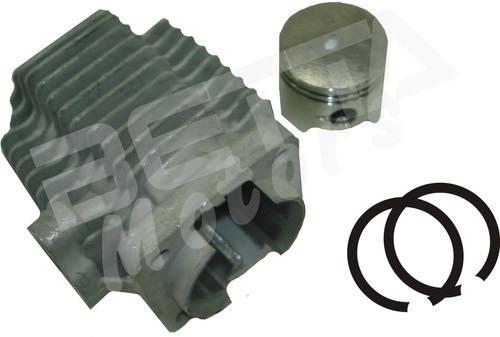 kit cilindro mini moto 49cc. 44mm. pistão anéis pino gaiola