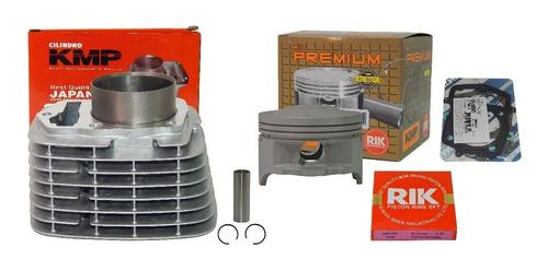 kit cilindro motor kmp premium crf 230 para 240  67mm taxado