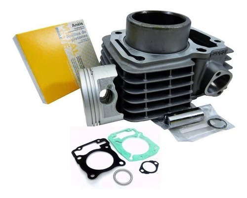 kit cilindro motor titan 150 04/15 fan150/bros150 + juntas