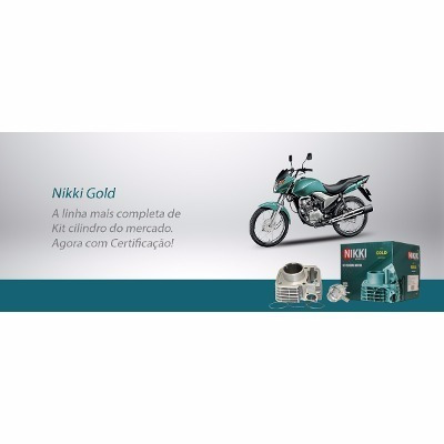 kit cilindro nikki premium crf230 (cilindro+pistao+aneis)