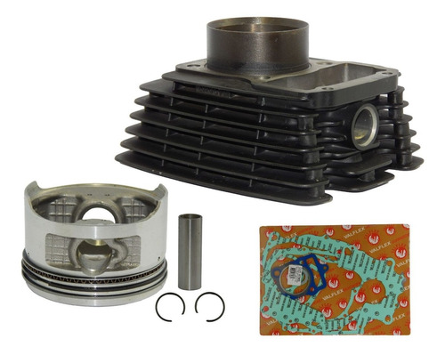 kit cilindro original pistão anéis junta kasinski mirage 150