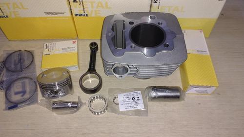 kit cilindro pistão anéis biela metal leve xr r 200 cbx nx