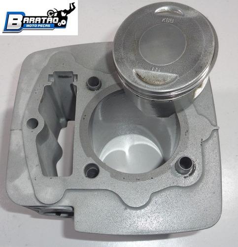 kit cilindro pistão anéis cbx 150 aero nx bros 03/05 ohc
