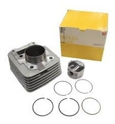 kit cilindro pistão anéis metal leve honda c 100 biz