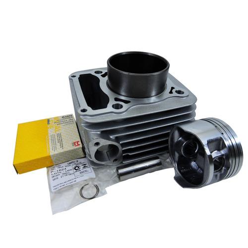 kit cilindro pistão anéis metal leve honda cb 300 xre
