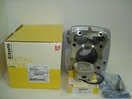 kit cilindro pistão anéis metal leve honda cg 125 fan 2009
