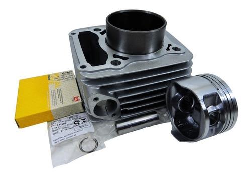 kit cilindro pistão anéis metal leve yamaha crypton 115