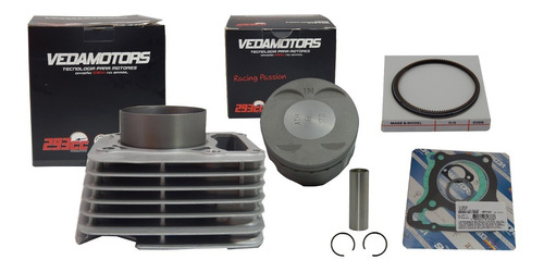 kit cilindro twister / tornado 293cc vedamotors athena
