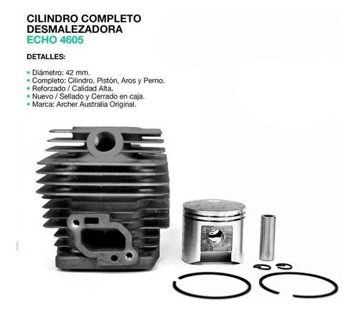 kit cilindro y piston desmaleza echo srm 4605 original japon