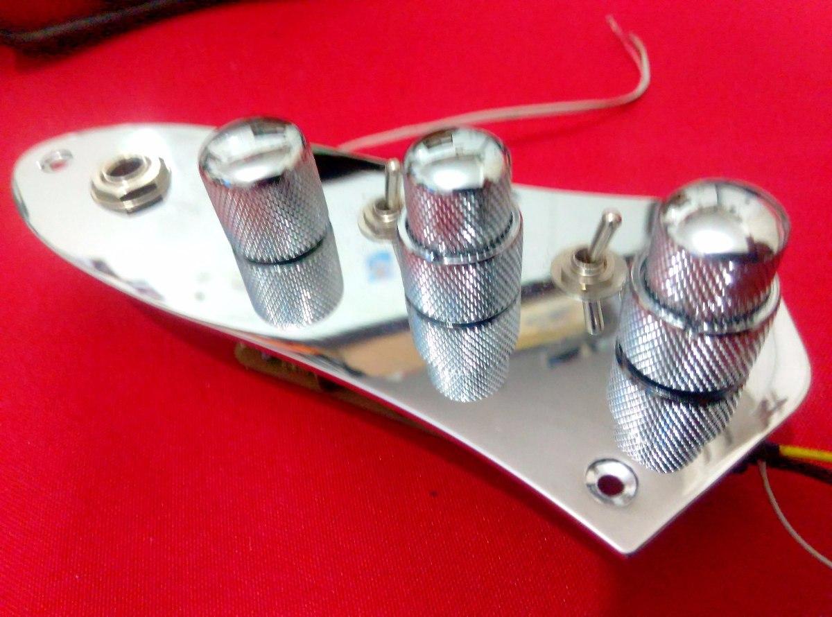 Circuito Jazz Bass : Kit circuito activo p bajo jazz bass con booster en