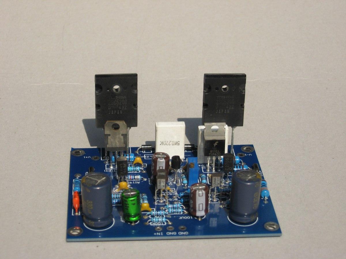 Circuito Amplificador : Kit circuito amplificador de audio w en