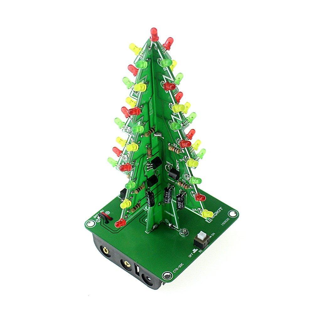 Kit Circuito Árbol De Navidad Electrónico - $ 225.00 en Mercado Libre