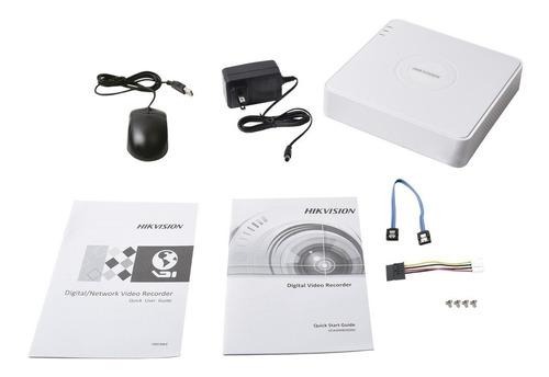 kit circuito cerrado 4 cámaras hilook hd 720p baluns  disco duro 500gb