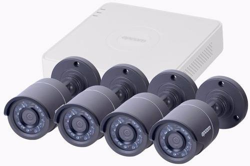 kit circuito cerrado cámaras video vigilancia