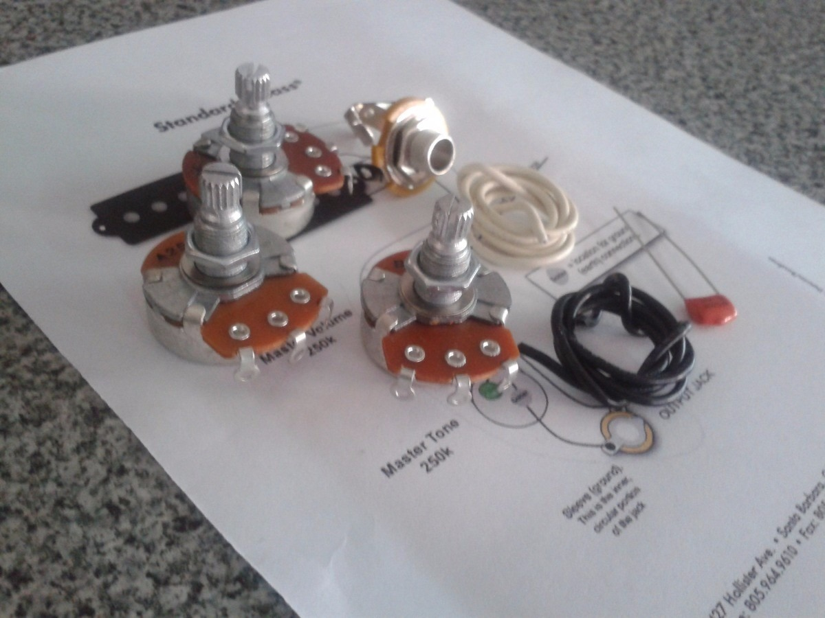 Circuito Jazz Bass : Kit circuito para bajo jazz bass para armar completo $ 582 99 en