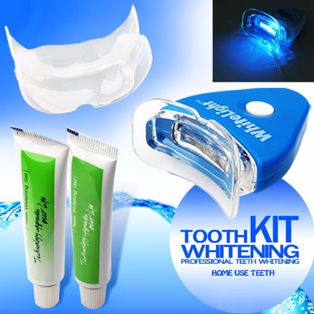 Kit Clareador Dental 2 Gel Whitelight Clareamento Dentario