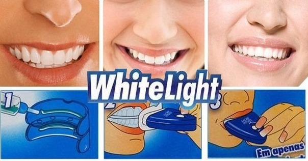 Kit Clareador Dental 2 Gel Whitelight Clareamento Dentario R 39