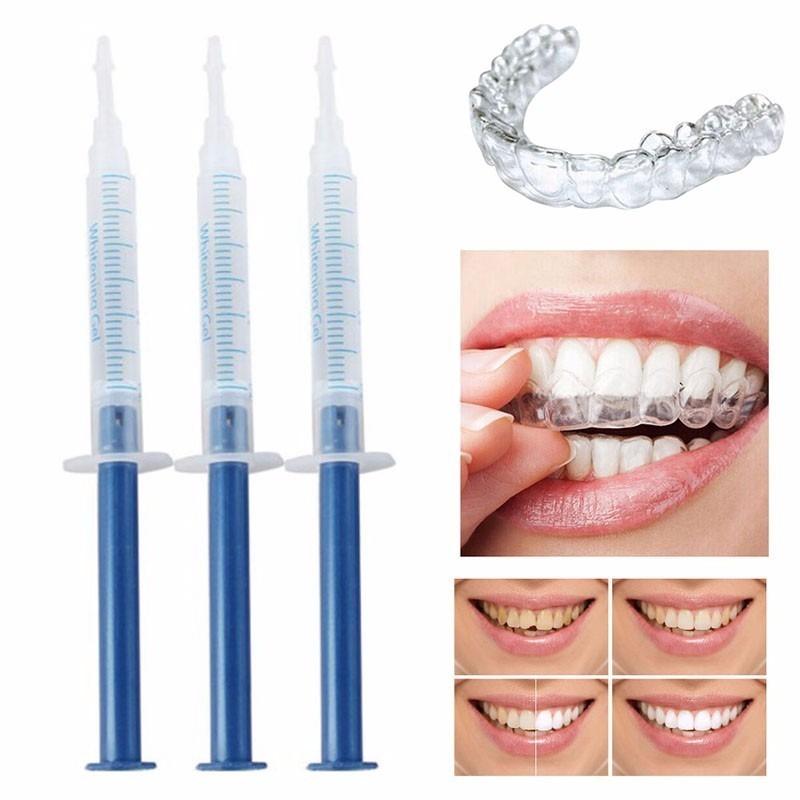 Kit Clareador Dental 44 3 Seringas Luz Led R 69 00 Em Mercado