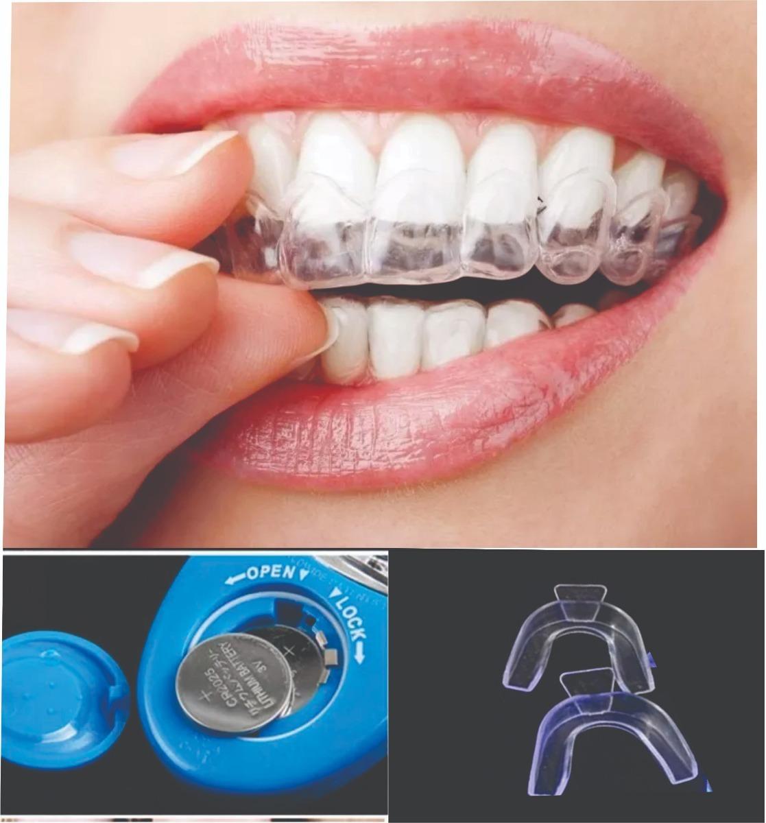 Kit Clareador Dental Com Gel Moldeira Led R 25 90 Em Mercado Livre