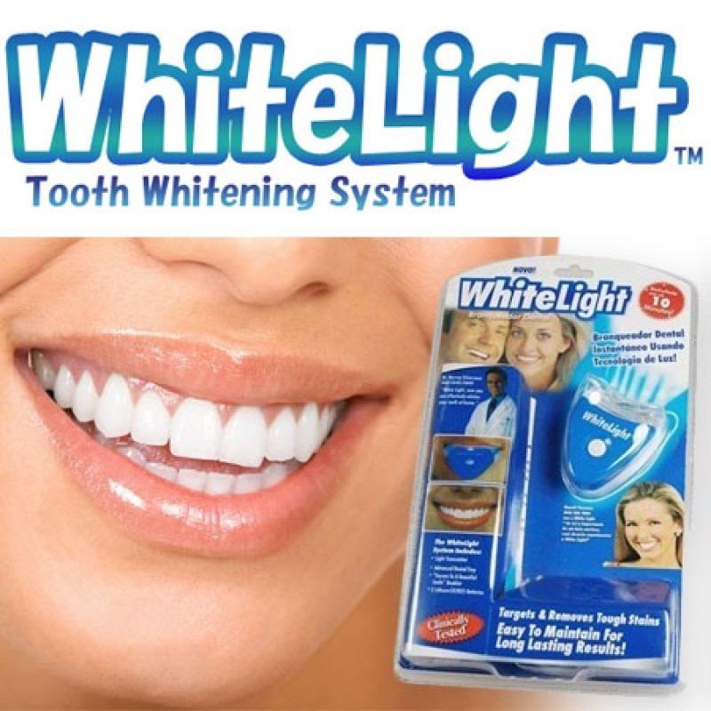 Kit Clareador Dental Gel White Light Clareamento R 85 05 Em