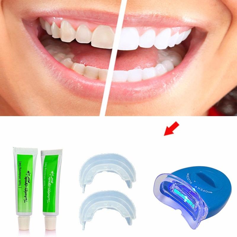 Kit Clareador Dental Gel Whitelight Clareamento Dentario R 25 00