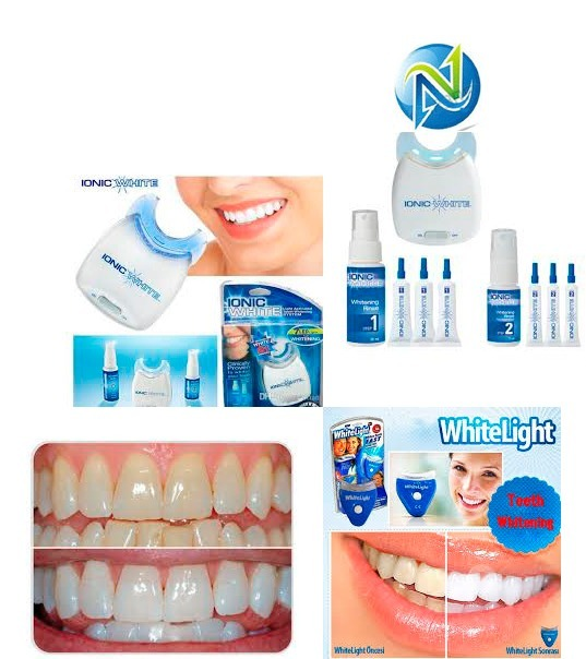 Kit Clareador Dental Ionic White Branqueamento Dentario R 65 00