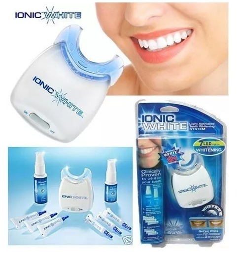 Kit Clareador Dental Ionic White Branqueamento Dentario R 46 00