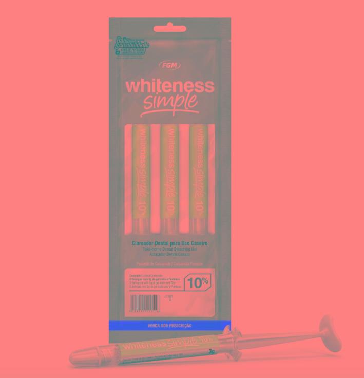 Kit Clareador Dental White Simple 10 Com 3 Unidades R 48 40 Em