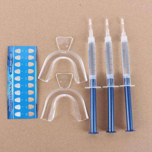 Kit Clareador Dental Whiteness Perfect 16 22 Moldeira R 93