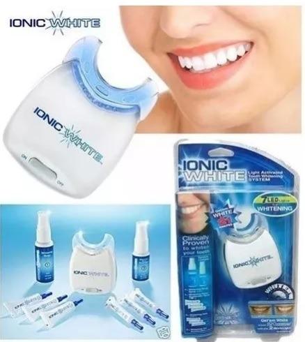 Kit Clareamento Caseiro Ionic White Branqueador Para Dentes R 44